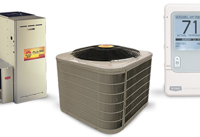 New Forced Air Furnace & Central Air